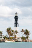 Hillsboro lighthouse in Pompano Royalty Free Stock Photos