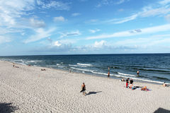 Hillsborough beach Stock Photography