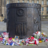 Hillsborough Disaster Memorial Royalty Free Stock Photography