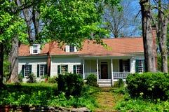 Hillsborough, NC: Южный колониальный дом Стоковое Фото
