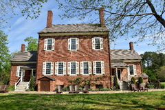 Hillsborough, NC: 1815 Ayr Mount Plantation Stock Photo