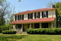 Hillsborough, NC: 1821 Burwell-School voor Vrouwen Royalty-vrije Stock Foto's