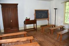 Hillsborough, NC: 1821 Burwell School for Women Classroom Stock Photos