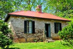 Hillsborough, NC: 1821 Burwell School for Women Classroom Royalty Free Stock Image