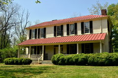 Hillsborough, NC: 1821 Burwell School for Women Royalty Free Stock Photos