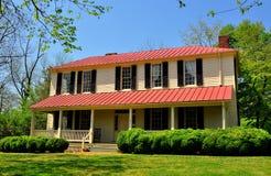 Hillsborough, NC: 1821 Burwell School for Women Stock Photos