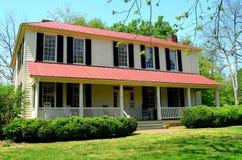 Hillsborough, NC: 1821 Burwell School for Women Royalty Free Stock Photo