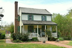 Hillsborough, NC: 1790 Dixon Huis stock foto
