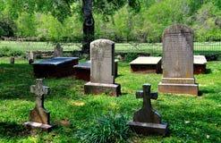 Hillsborough, NC: Kirkland Family Burial Plot at Ayr Mount Royalty Free Stock Photo
