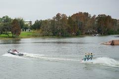 legoland water ski show Stock Image