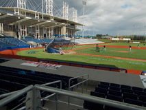 Hillsbro ballpark Royalty Free Stock Photos