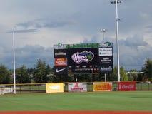 Hillsbro basebollarena Royaltyfri Fotografi