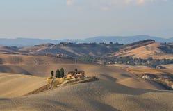Hillscape van Kreta Senesi Royalty-vrije Stock Foto's