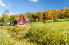 Hillside Barn Stock Image