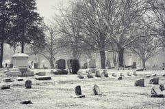Hillside Cemetery Genoa City, Wisconsin Royalty Free Stock Photography