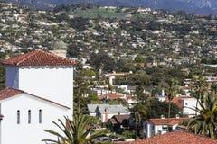 Santa Barbara California. Hillside community in scenic Santa Barbara, California Royalty Free Stock Photography
