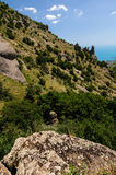 Hillside, Crimea, Ukraine Royalty Free Stock Photos