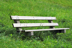 The cozy bench Royalty Free Stock Images