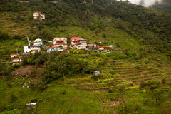 Hillside Homes of Baguio Royalty Free Stock Photo