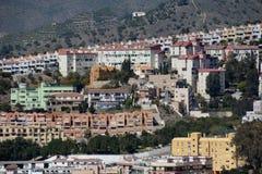 Hillside Housing Estate Malaga Royalty Free Stock Photos