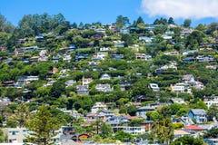 Hillside housing Royalty Free Stock Image