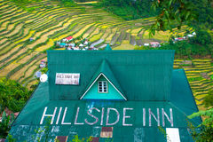 The Hillside Inn in Batad, Philippines Royalty Free Stock Photos