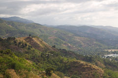 Hillside terrain view Timor Leste Stock Images