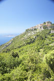 The hillside town of Eze, French Riviera, France Stock Image