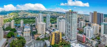 Hillside view - Panorama Royalty Free Stock Photos