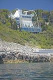 Hillside Villa,Saint Jean Cap Ferrat, French Riviera, France Royalty Free Stock Photos