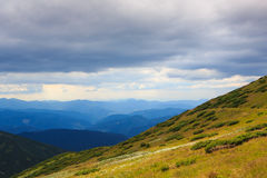 Hillsides and sky Royalty Free Stock Photography