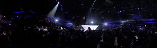 Hillsong konferencja 2017 przy Sydney Olimpijskim stadium obrazy royalty free