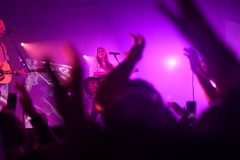 Hillsong Worship performing in Saint Louis Missouri on April 10t Stock Photography