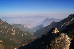 Hilltop. Hill top of Daming Mountain, China Royalty Free Stock Images