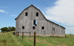 Hilltop Barn Royalty Free Stock Photography