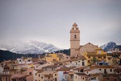 Costa Blanca mountain village Stock Photos