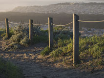 Hilltop Fence, San Francisco Royalty Free Stock Photography