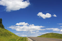 Hilltop Highway Stock Photography