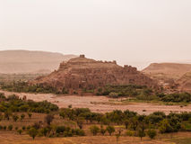 Hilltop kasbah Stock Photos