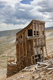 Hilltop Mine Ruins Stock Images