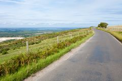 Hilltop Road Royalty Free Stock Images