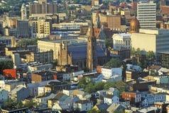 Hilltop view of Patterson NJ Stock Photos