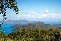 Hilltop view Virgin Islands Stock Photos