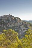 Hilltop village. The hilltop village of Gordes in Provence Stock Photo