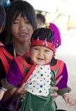 hilltribe lisu泰国村庄 免版税库存图片