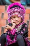 Hilltribe Mädchen, Thailand Lizenzfreies Stockfoto