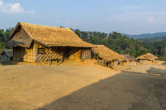 Hilltribe village. Shan State, Myanmar (Burma Royalty Free Stock Images