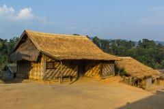 Hilltribe village. Shan State, Myanmar (Burma Royalty Free Stock Photography