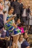 Hillula anual del rabino Shimon Bar Yochai, en Meron 2018 Fotos de archivo