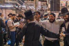Hillula anual del rabino Shimon Bar Yochai, en Meron 2018 Imagen de archivo